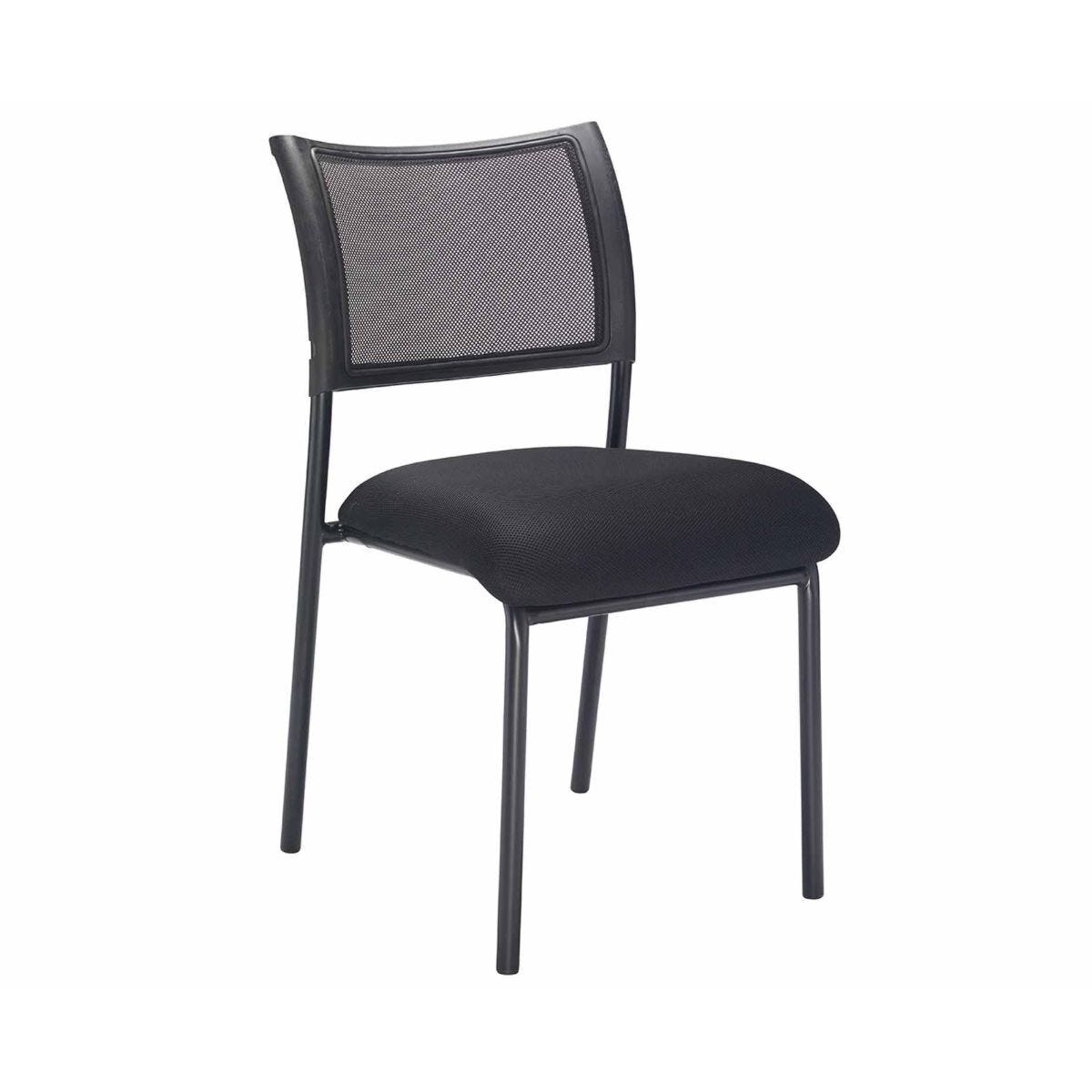TC Office Jupiter Mesh Back Conference Chair with Black Frame