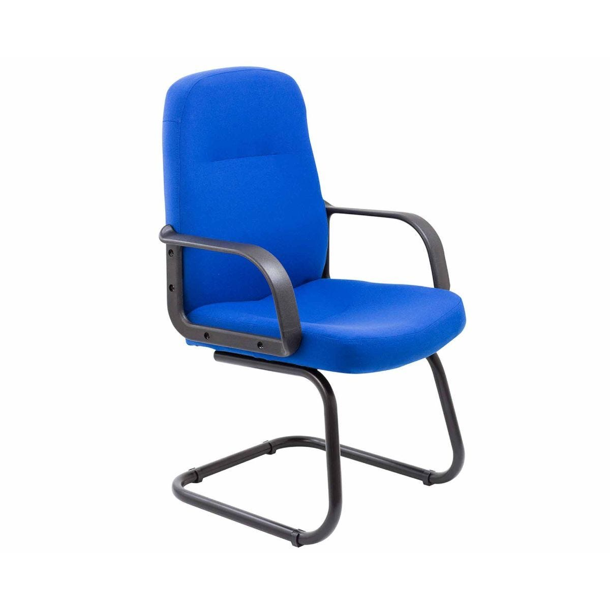 TC Office Canasta 2 Fabric Visitor Executive Chair Royal Blue