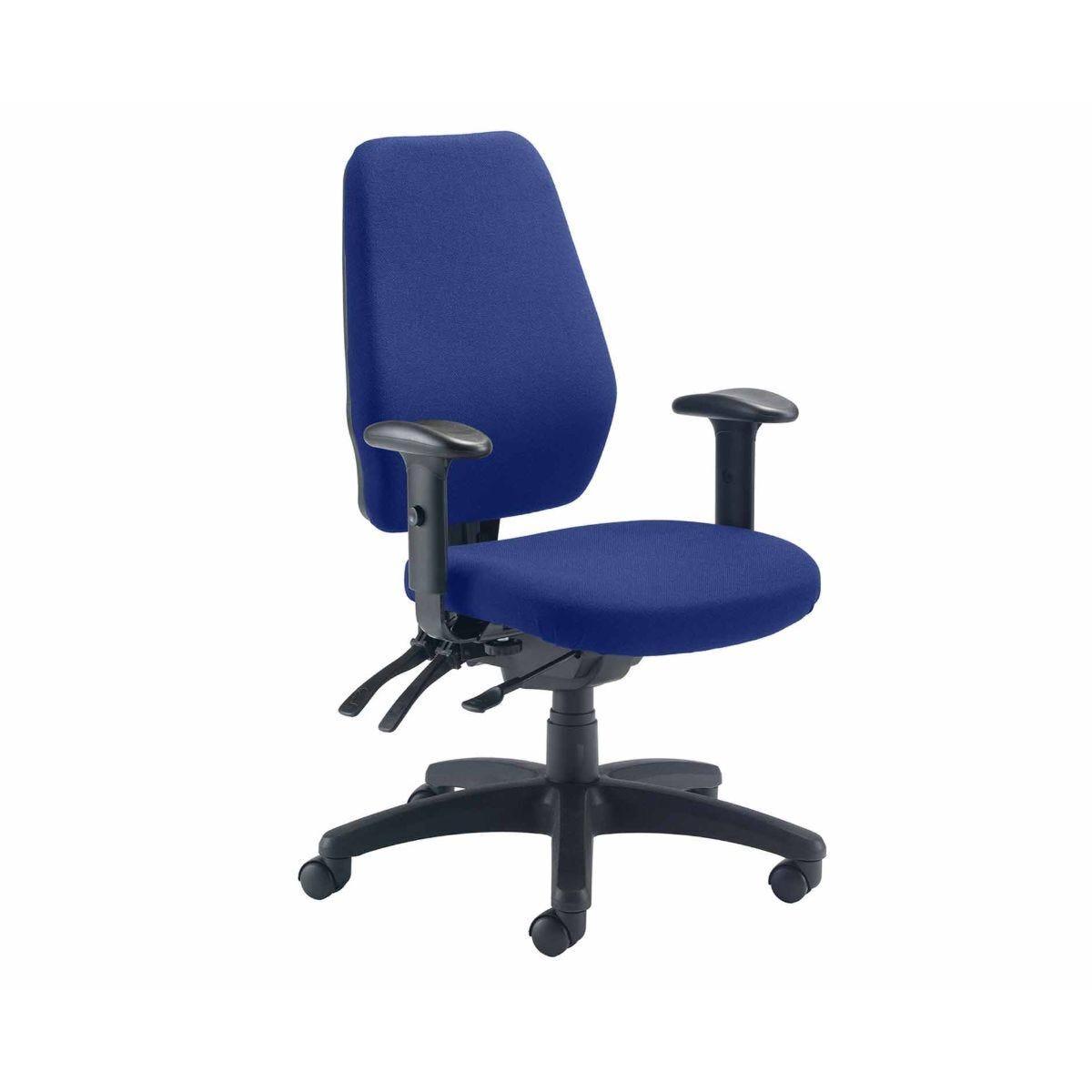 TC Office 24 Hour Heavy Duty Call Centre Chair Royal Blue