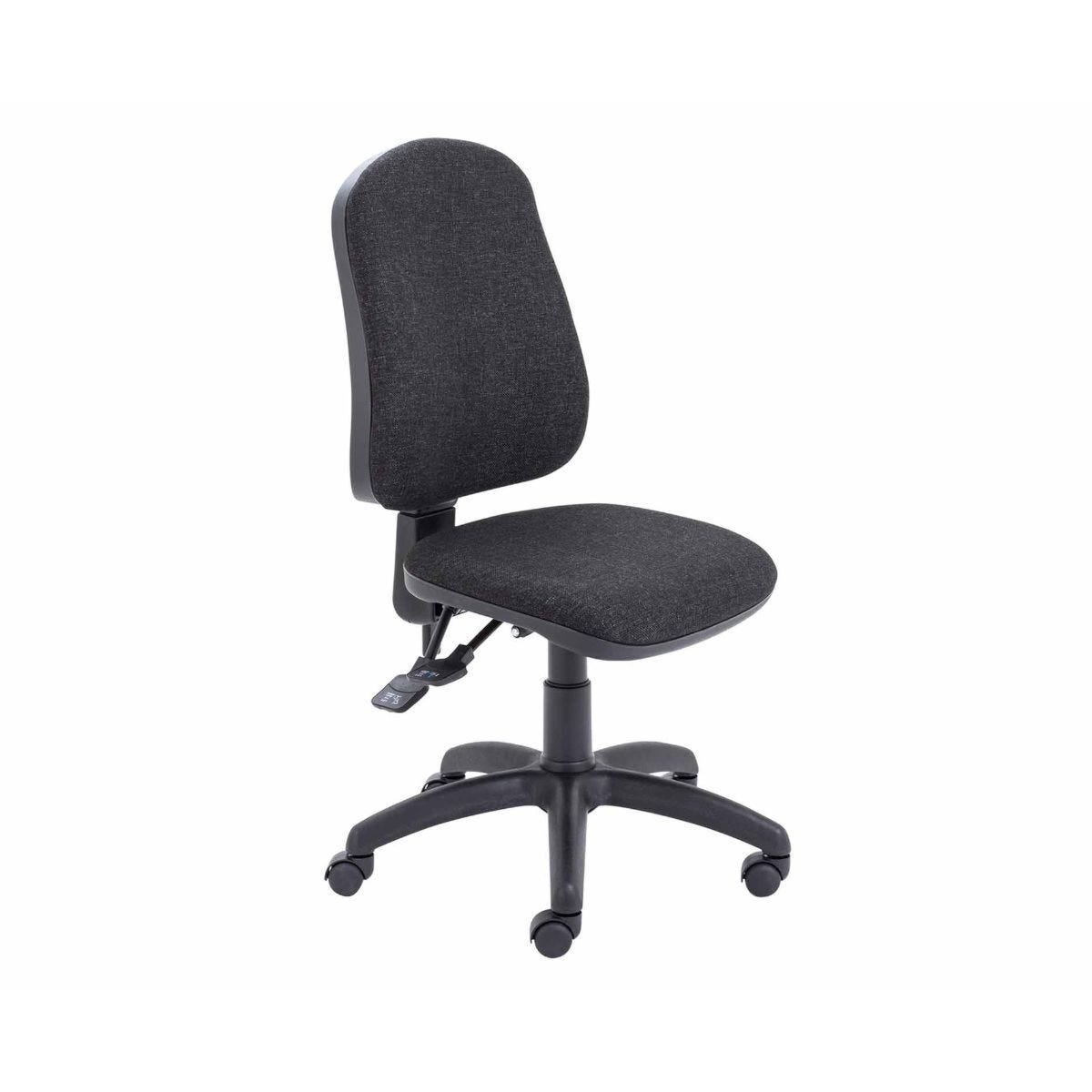 TC Office Calypso High Back Three Lever Operator Chair Charcoal