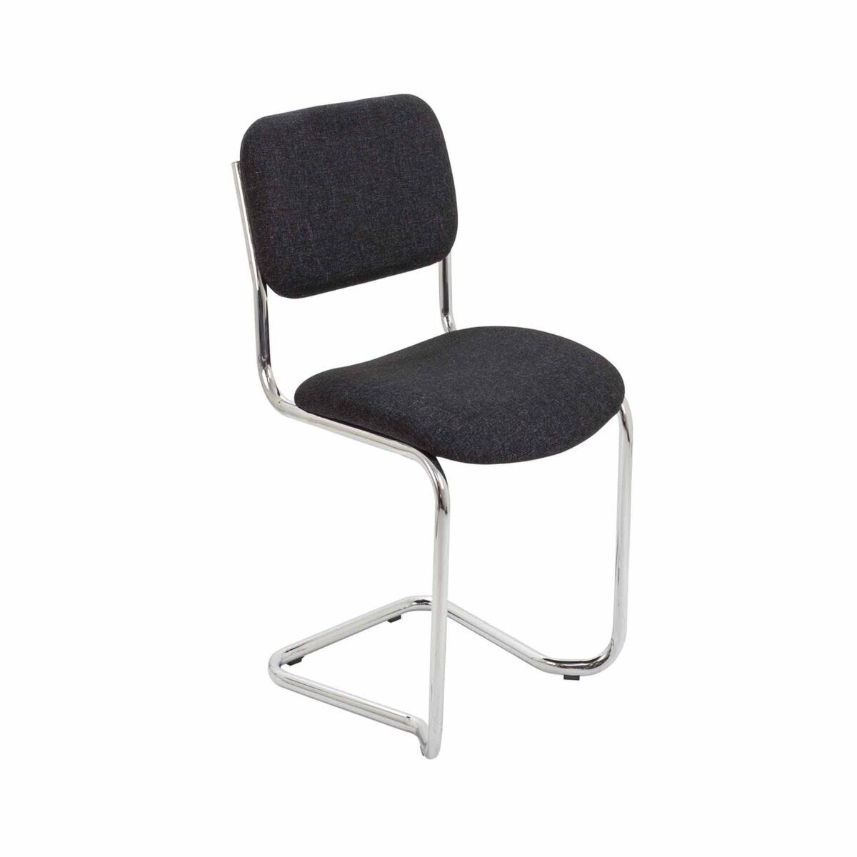 TC Office Summit Conference Chair with Chrome Frame