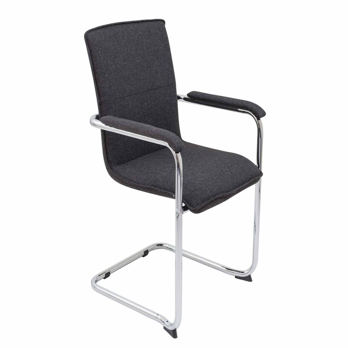 TC Office Pavia Fabric Meeting Chair with Padded Arms
