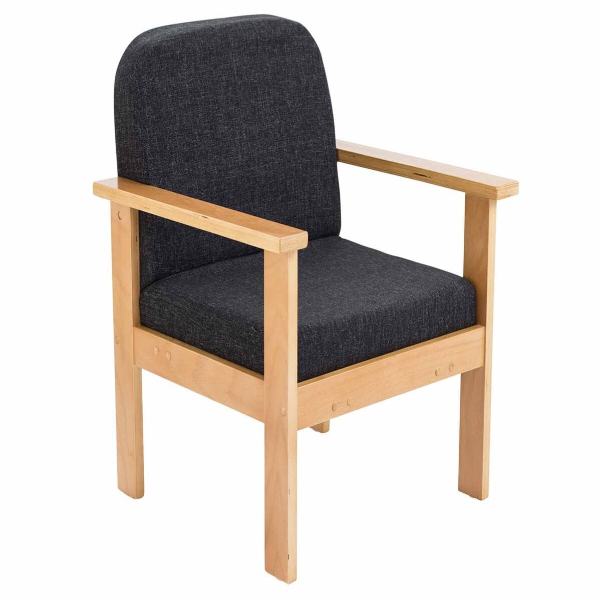 TC Office Juplo Wooden Reception Arm Chair