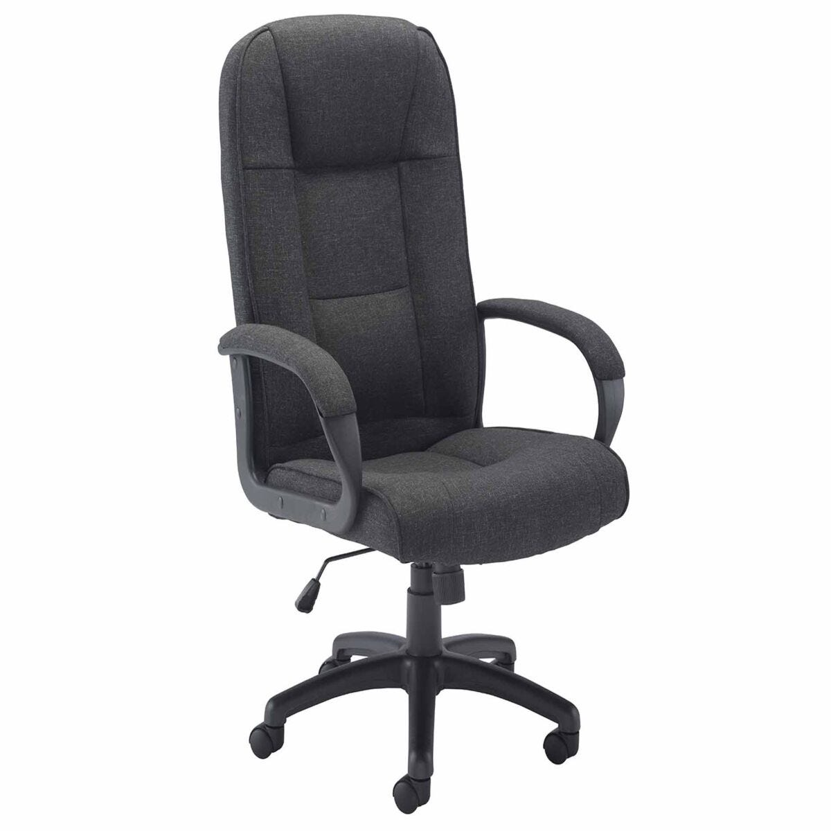 TC Office Keno Executive Fabric Chair with Padded Arms