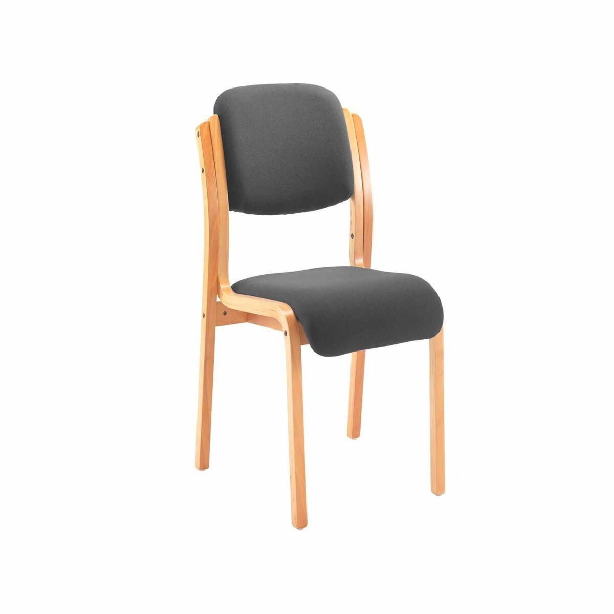 TC Office Renoir Wooden Frame Side Chair