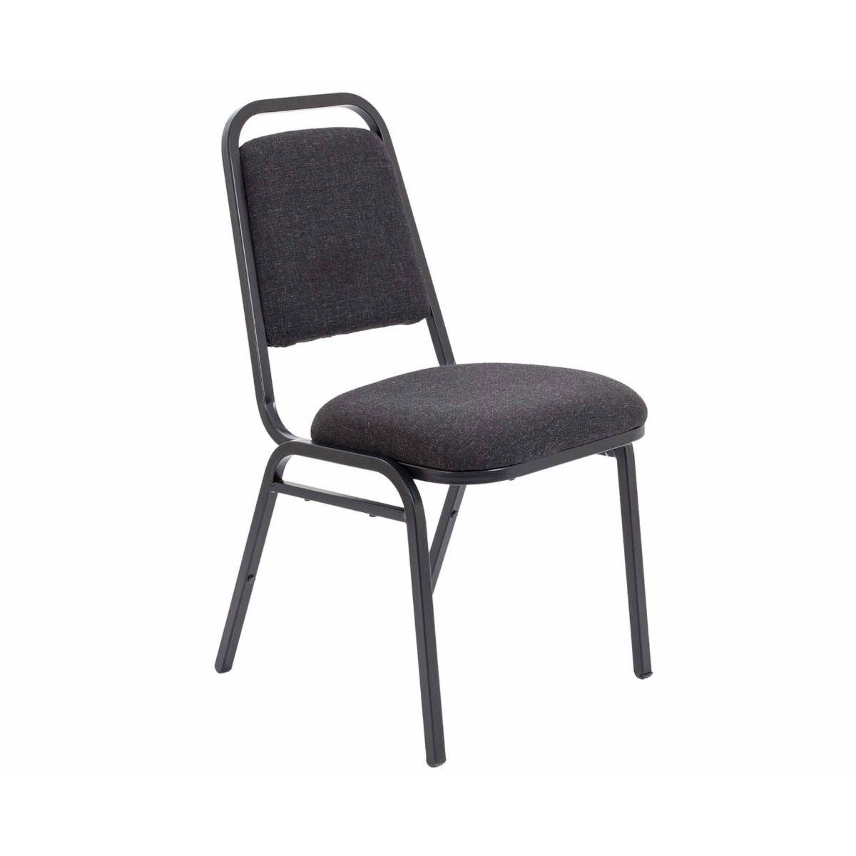 TC Office Padded Banqueting Chair Charcoal