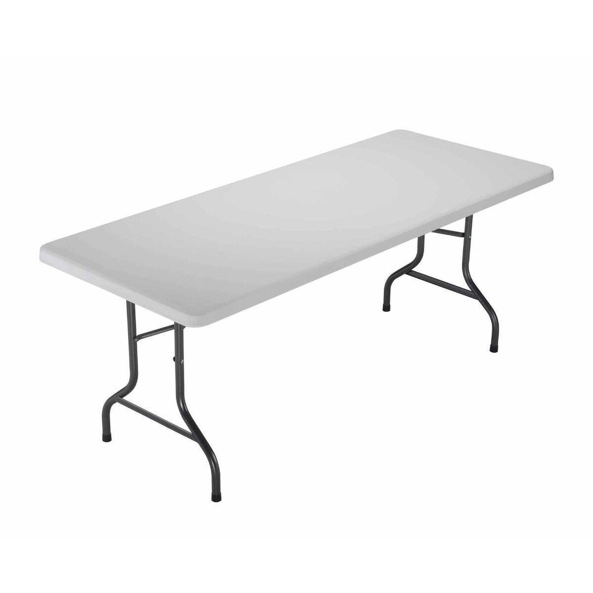 TC Office Morph Rectangular Polypropylene Folding Table 1820mm