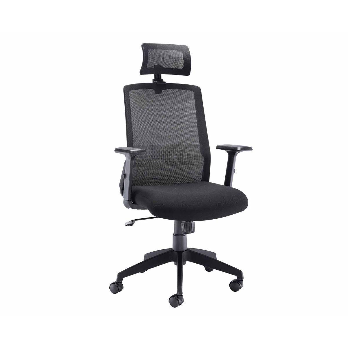 TC Office Denali High Back Mesh Task Chair with Headrest