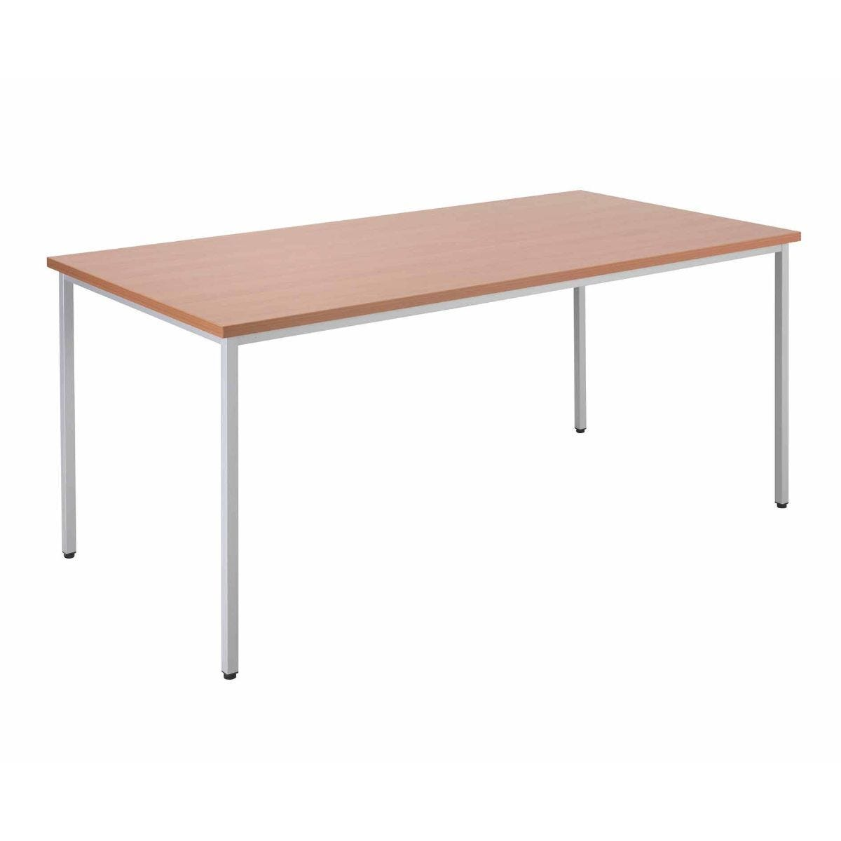 TC Office Rectangular Table 1600 x 800mm Beech