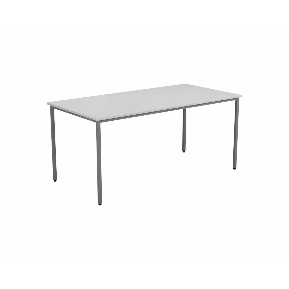 TC Office Rectangular Table 1600 x 800mm White