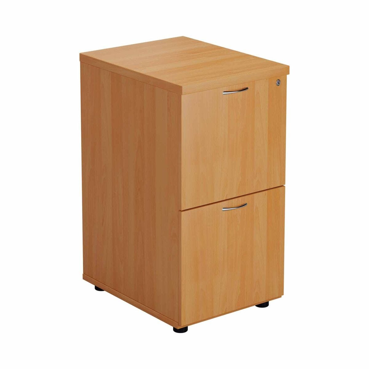 TC Office Deluxe 2 Drawer Filing Cabinet A4 Height 710mm