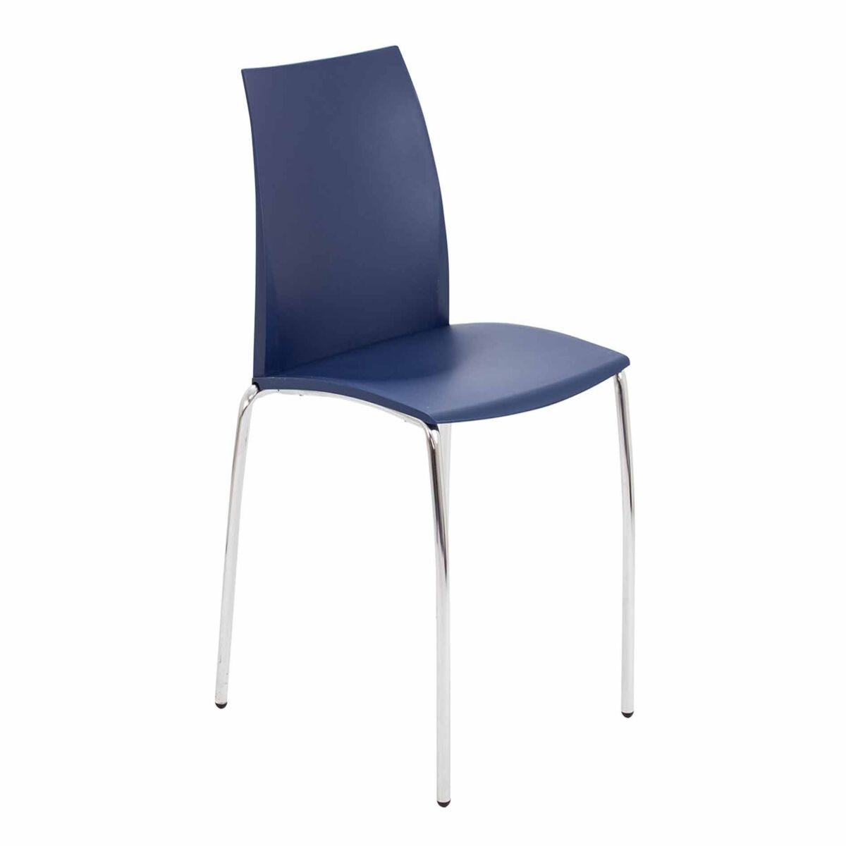 TC Office Adapt 4 Chrome Leg Stackable Chair