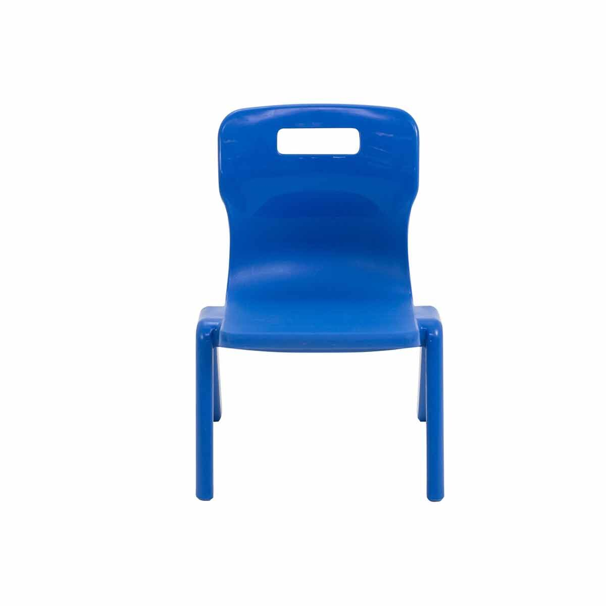 TC Office Titan One Piece Chair Size 1 Blue
