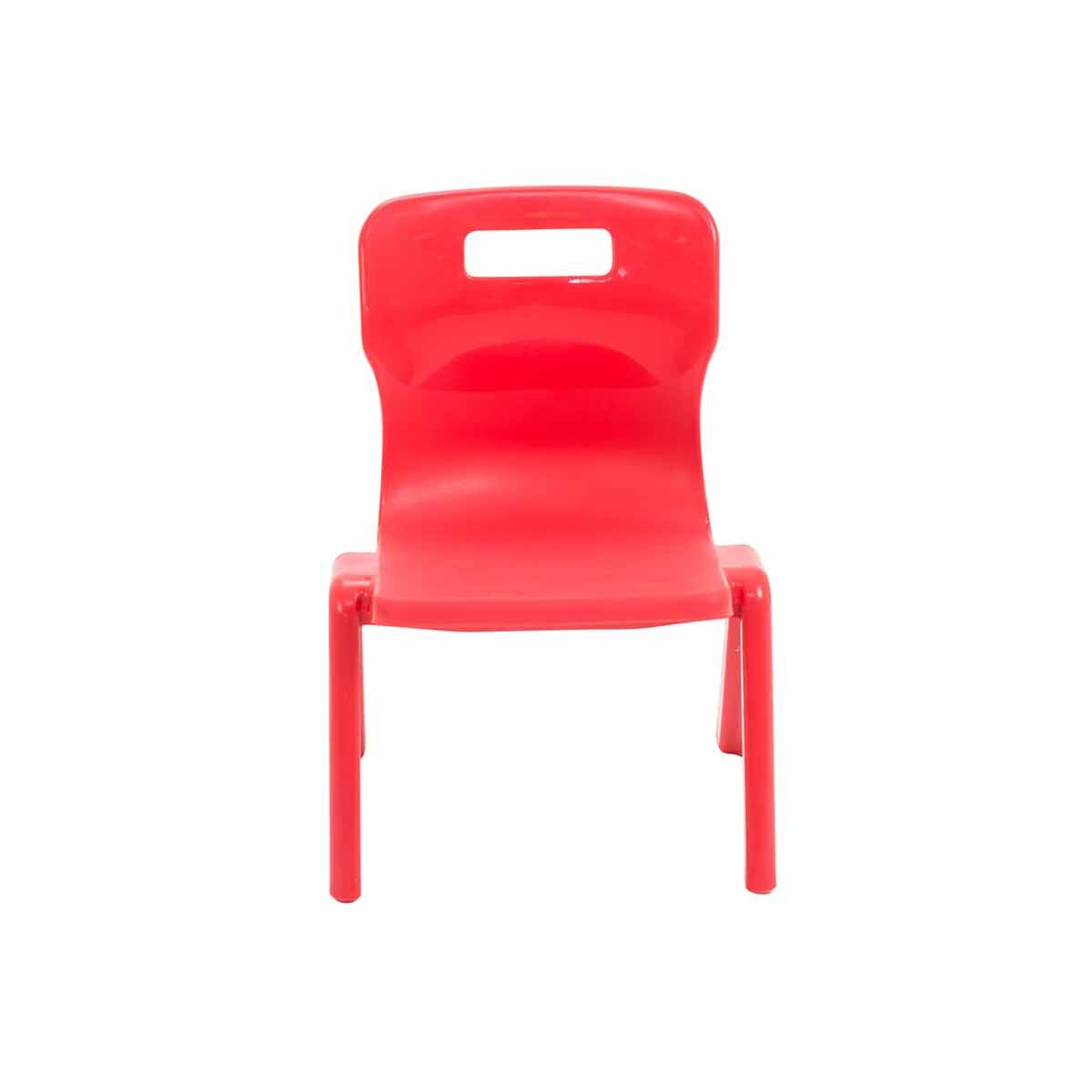 TC Office Titan One Piece Chair Size 1 Red