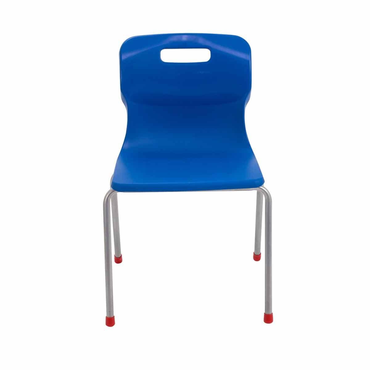 TC Office Titan 4 Leg Chair Size 4 Blue