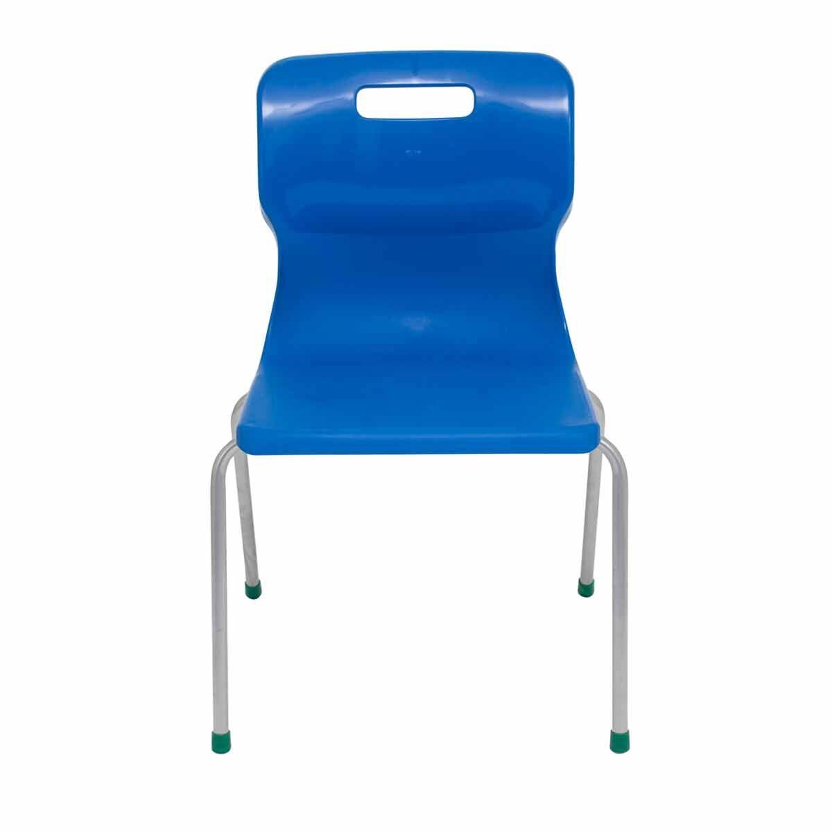 TC Office Titan 4 Leg Chair Size 5 Blue