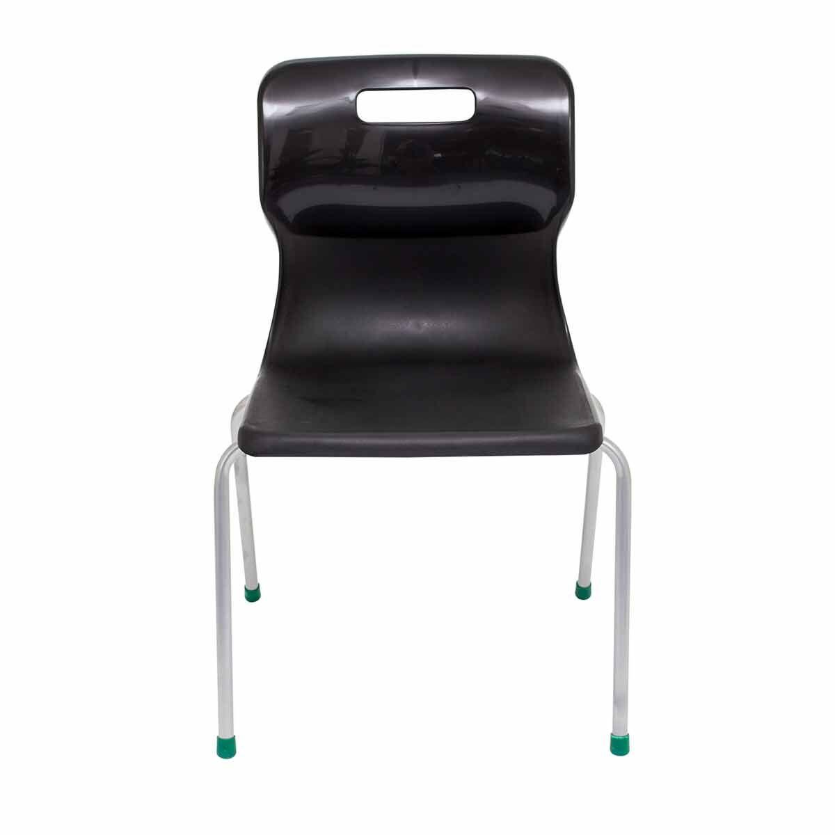 TC Office Titan 4 Leg Chair Size 5 Black