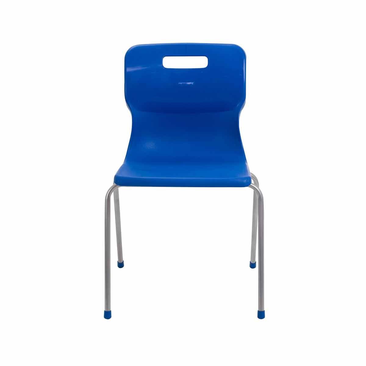 TC Office Titan 4 Leg Chair Size 6 Blue