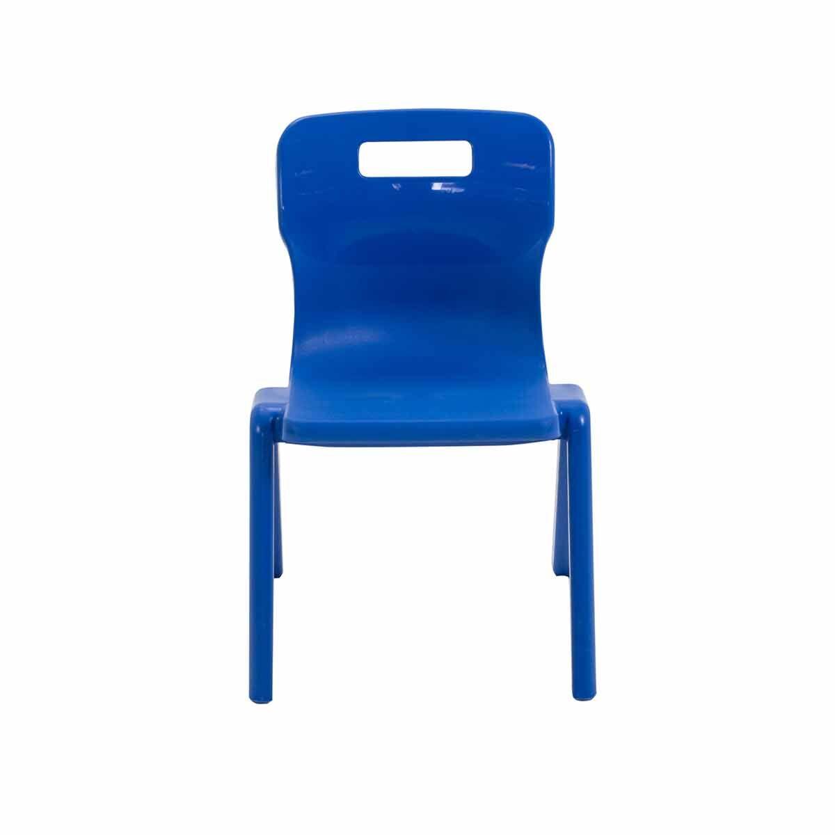 TC Office Titan One Piece Chair Size 2 Blue