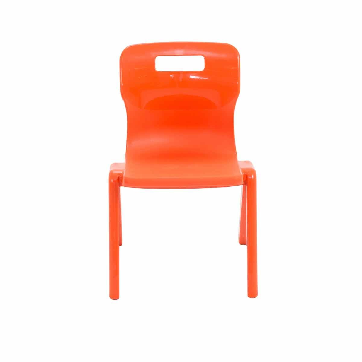 TC Office Titan One Piece Chair Size 2 Orange