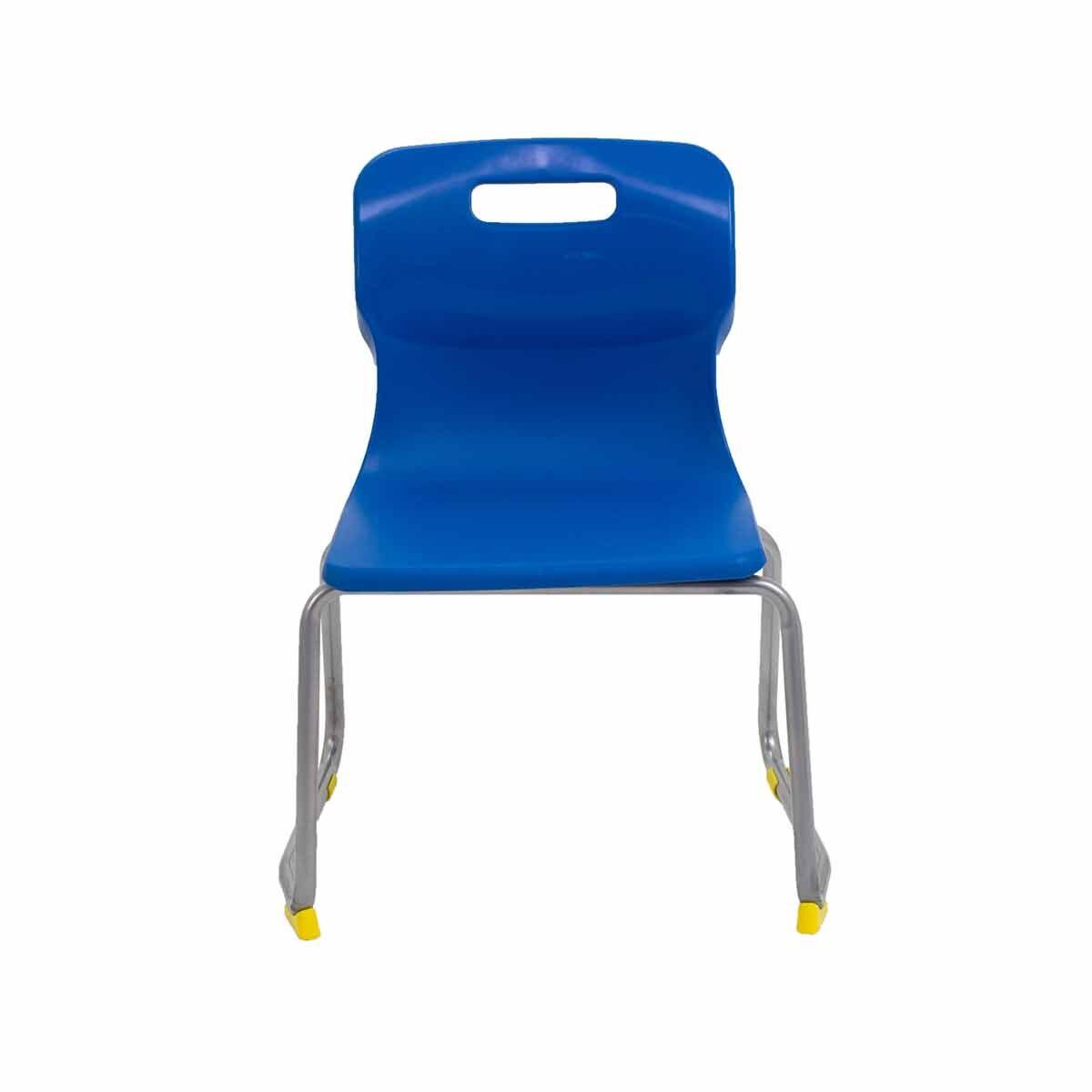 TC Office Titan Skid Base Chair Size 3 Blue