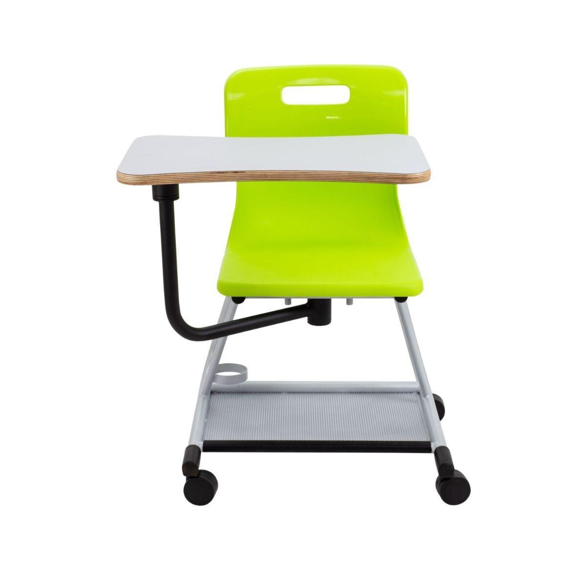 TC Office Titan Teach Chair with Writing Tablet Lime