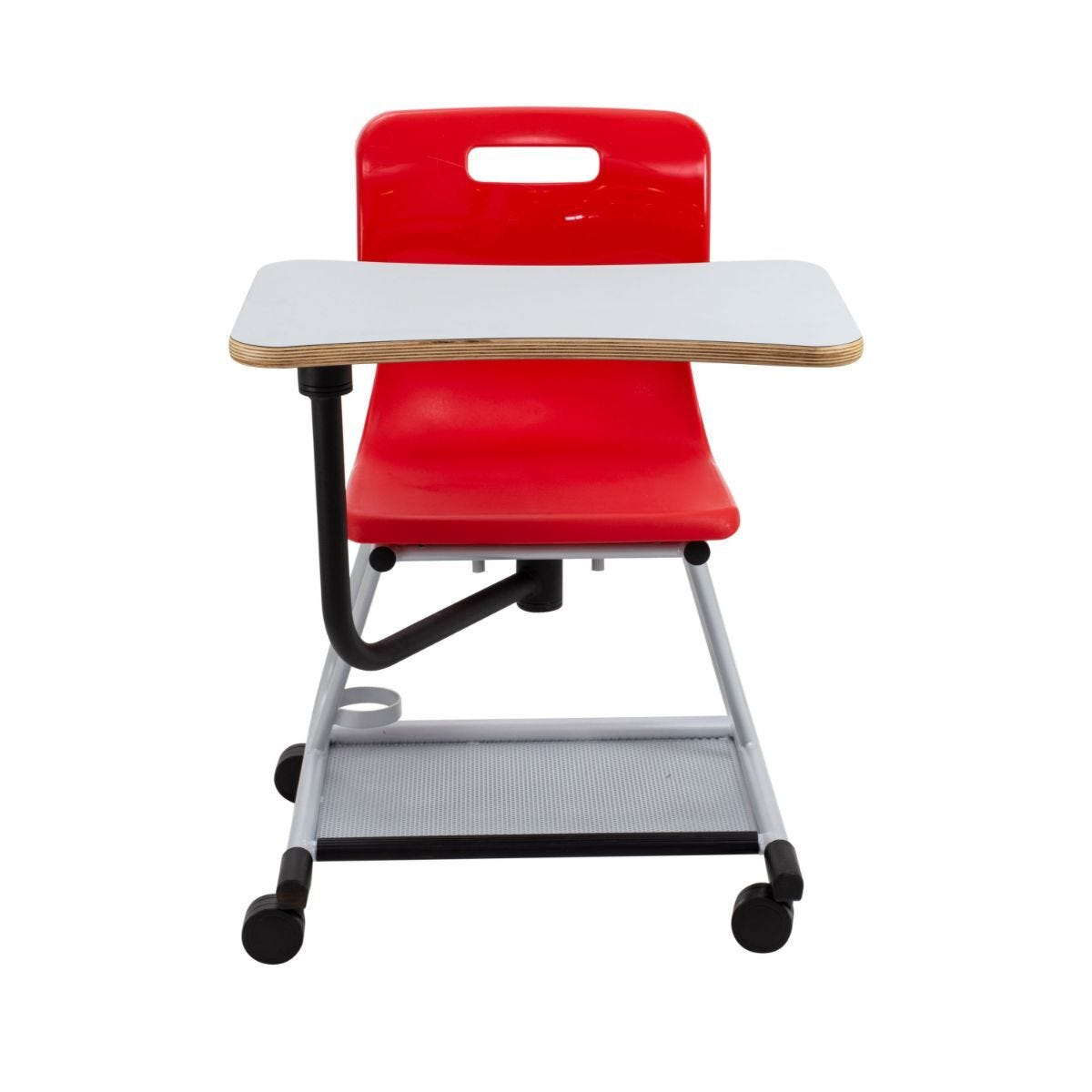 TC Office Titan Teach Chair with Writing Tablet Red