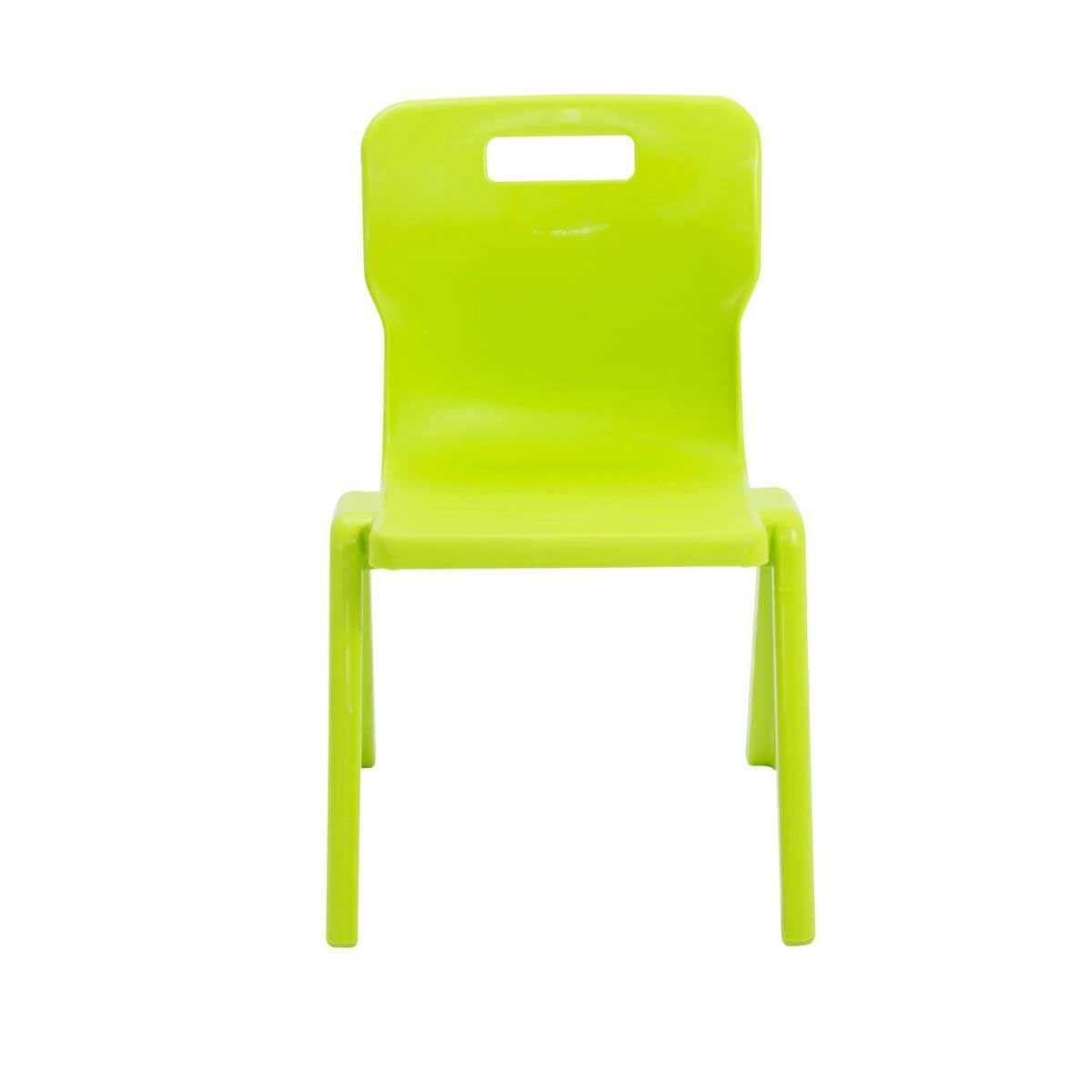 TC Office Titan One Piece Chair Size 4 Lime