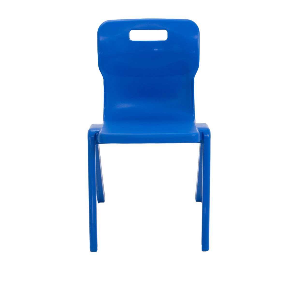 TC Office Titan One Piece Chair Size 6 Blue