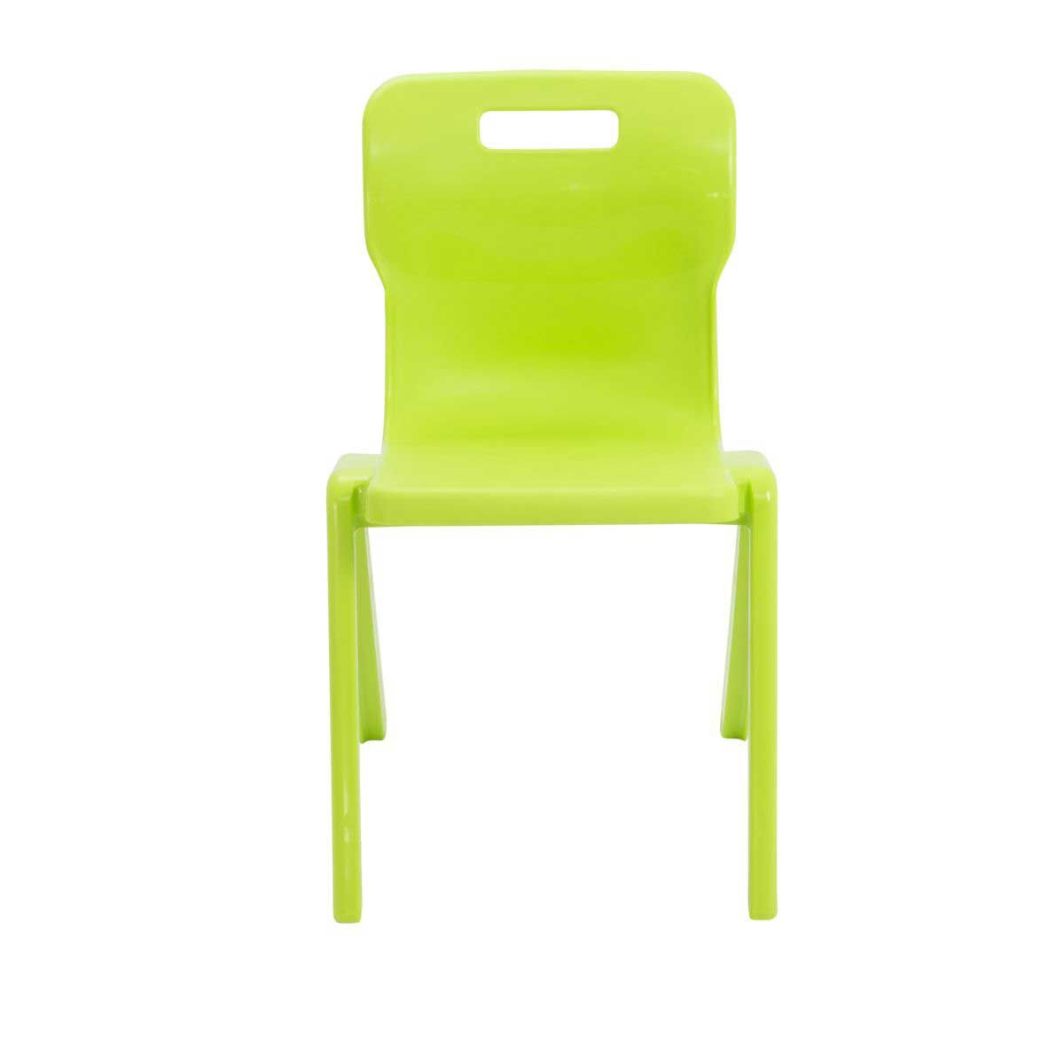 TC Office Titan One Piece Chair Size 6 Lime