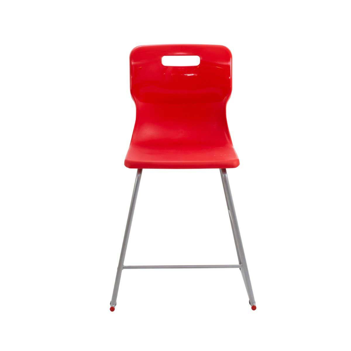 TC Office Titan High Chair Size 4 Red