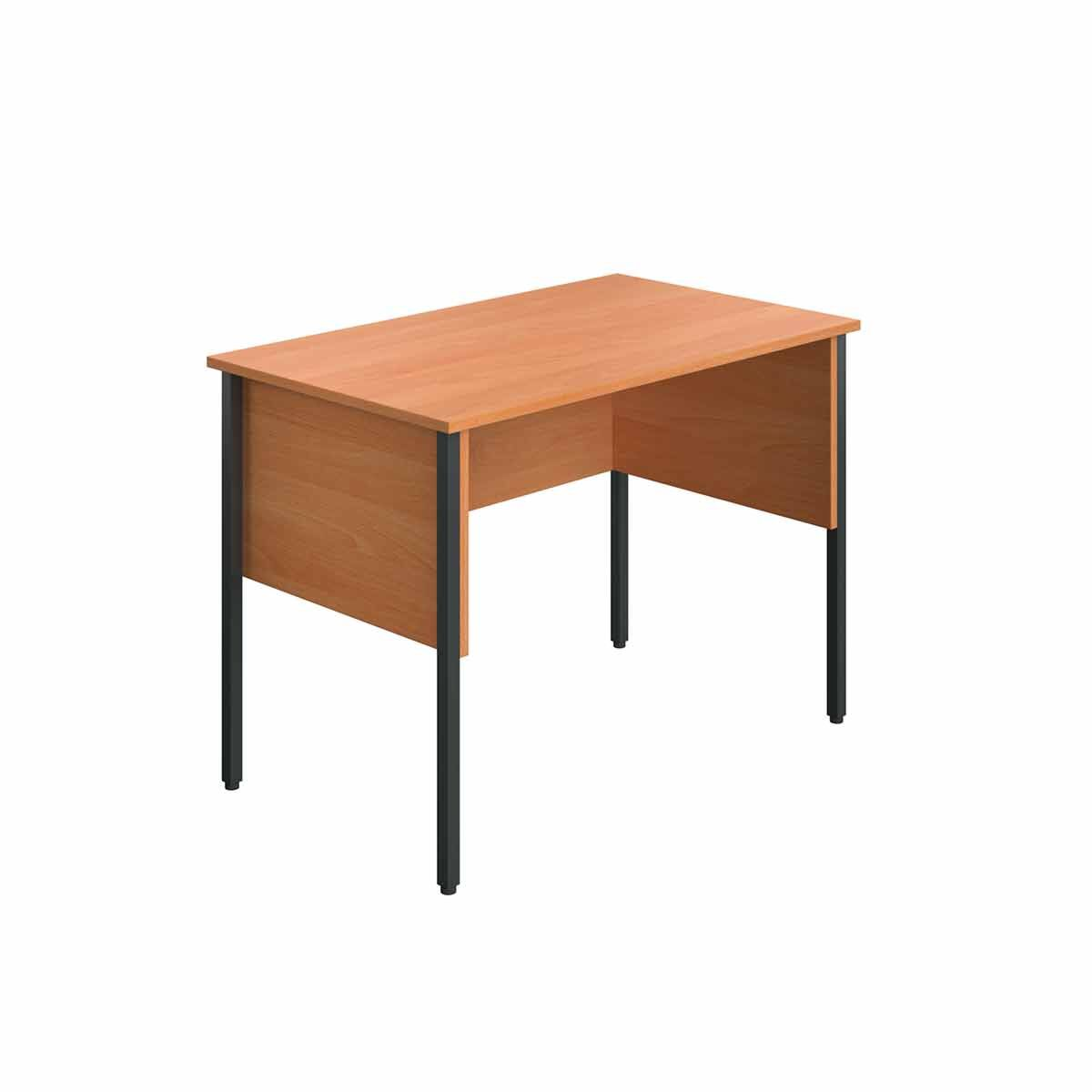 TC Office Eco Midi Homework Desk 100cm Beech
