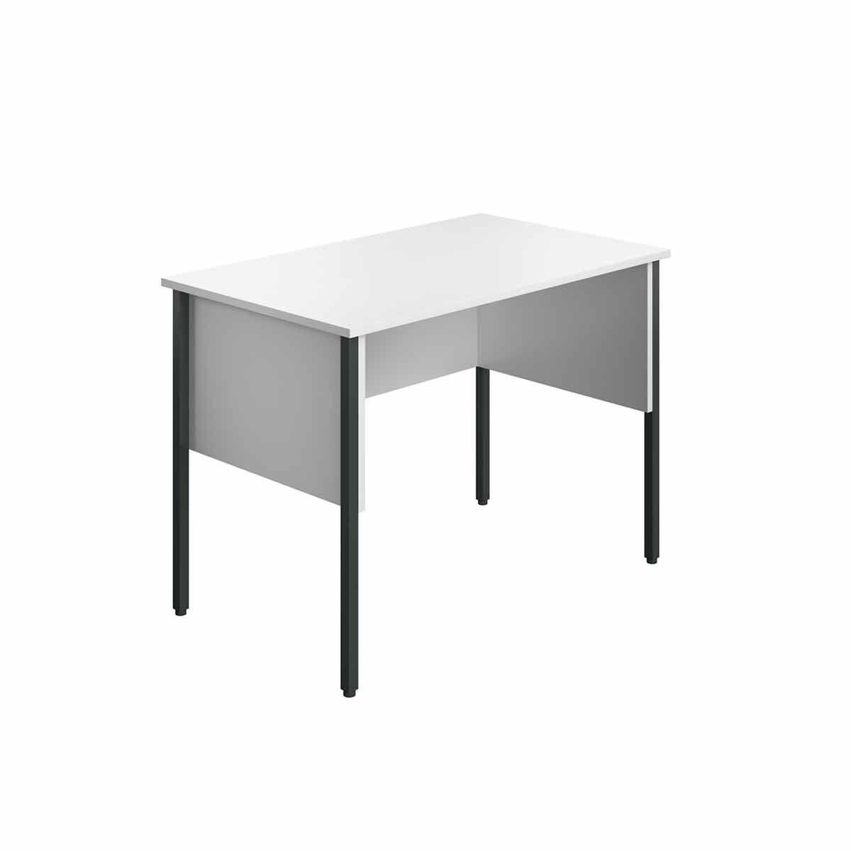 TC Office Eco Midi Homework Desk 100cm White