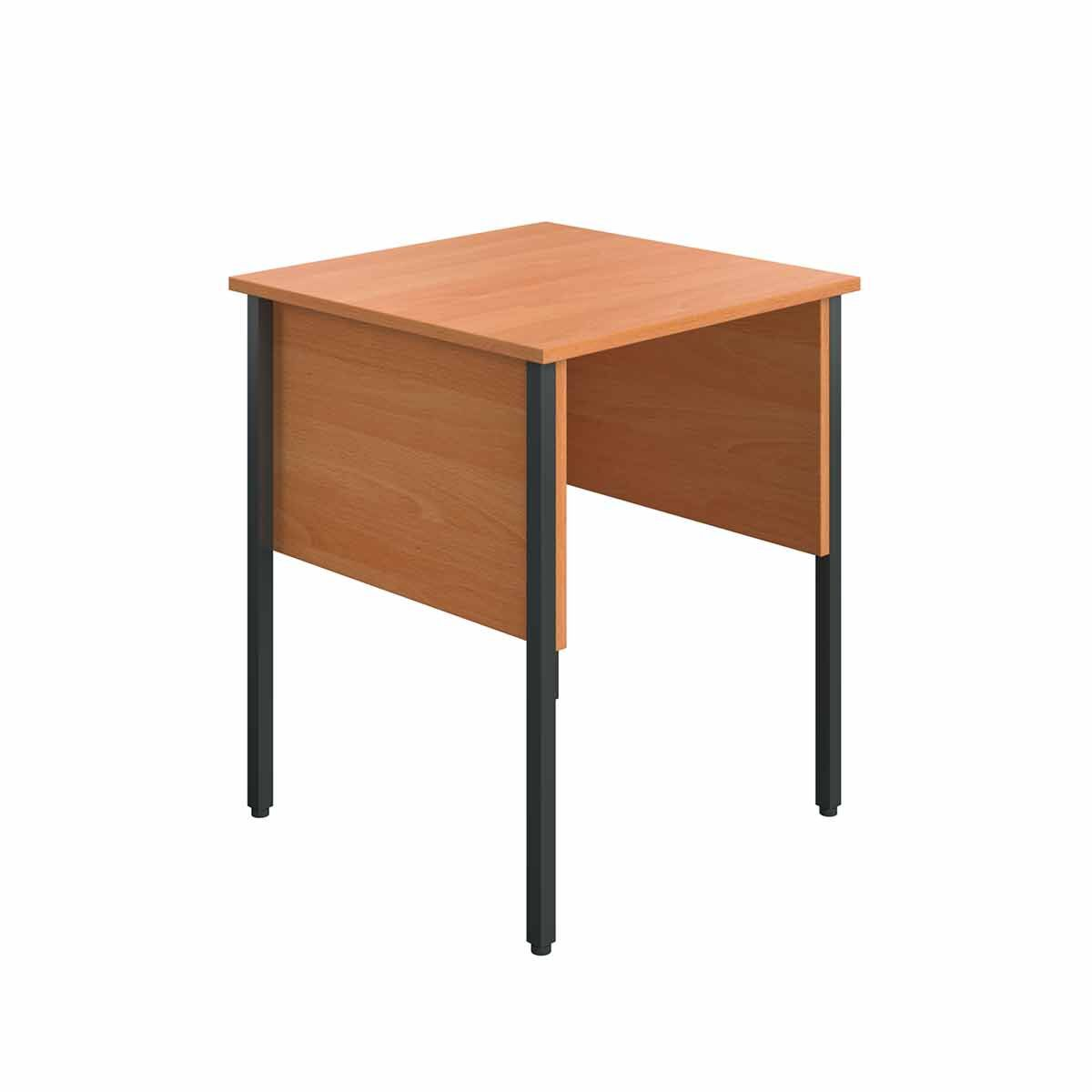 TC Office Eco Midi Homework Desk 60cm Beech