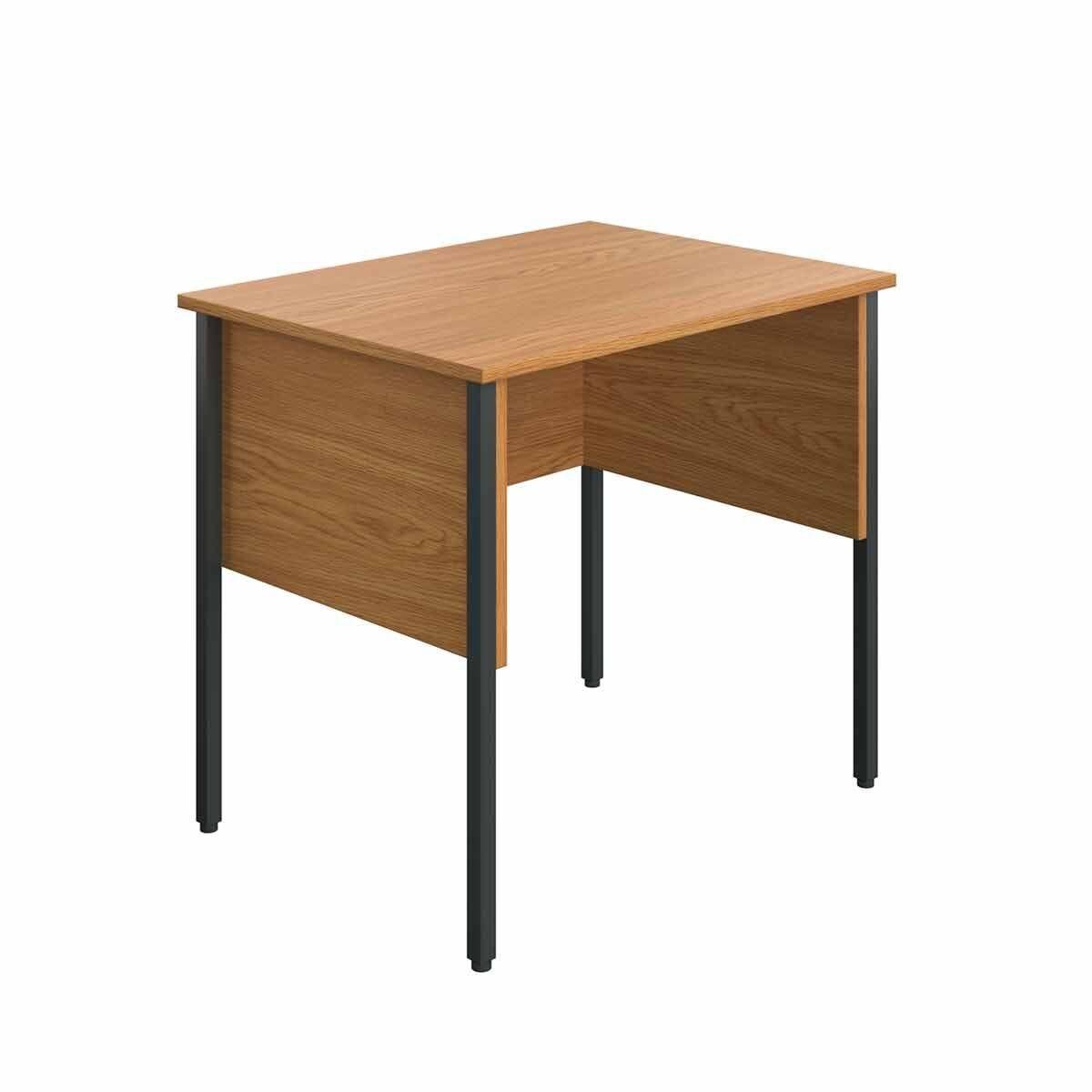 TC Office Eco Midi Homework Desk 80cm Oak