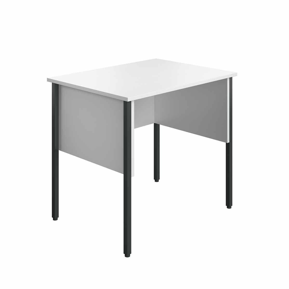 TC Office Eco Midi Homework Desk 80cm White