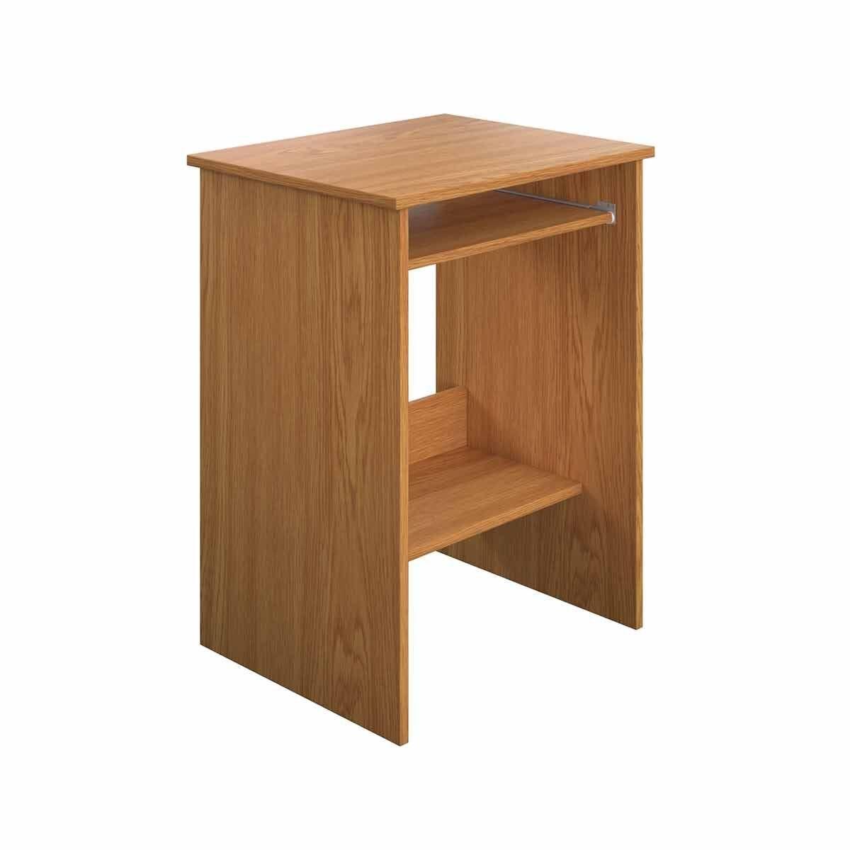 TC Office Eco Computer Stand 55cm Oak