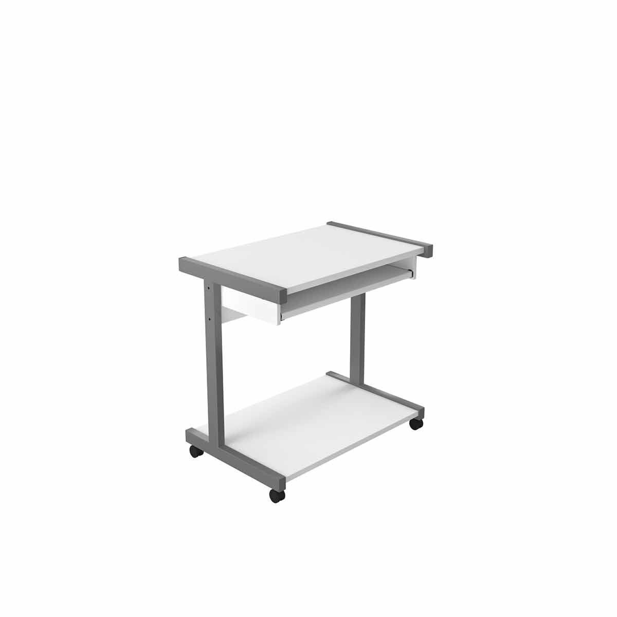 TC Office Eco Computer Stand 80cm White