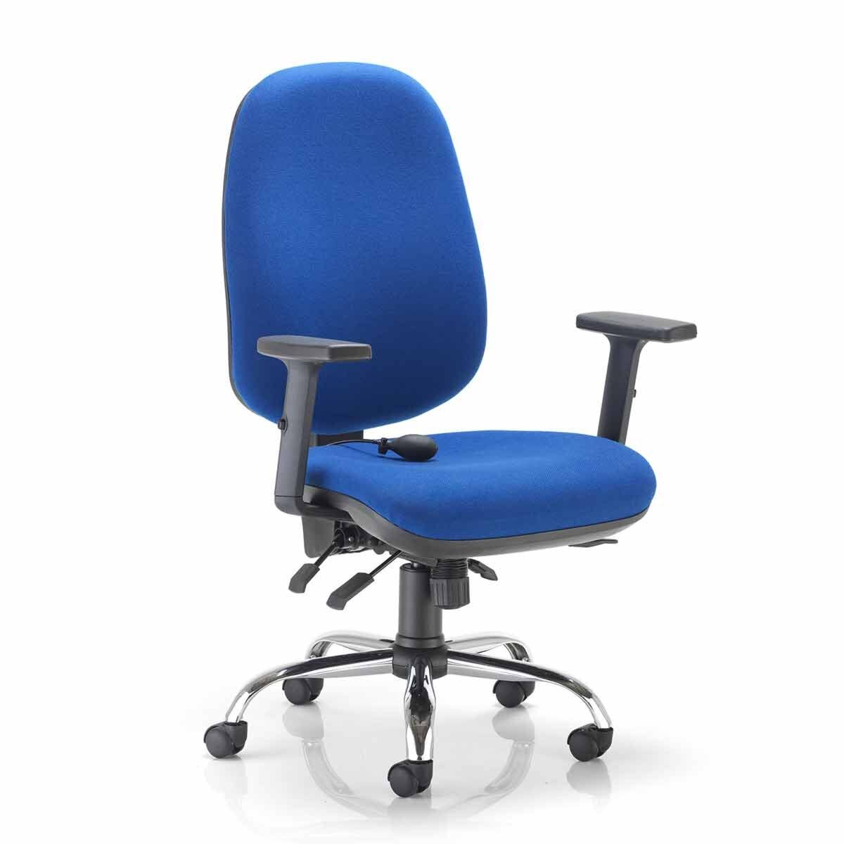TC Office ID Ergonomic Chair Blue