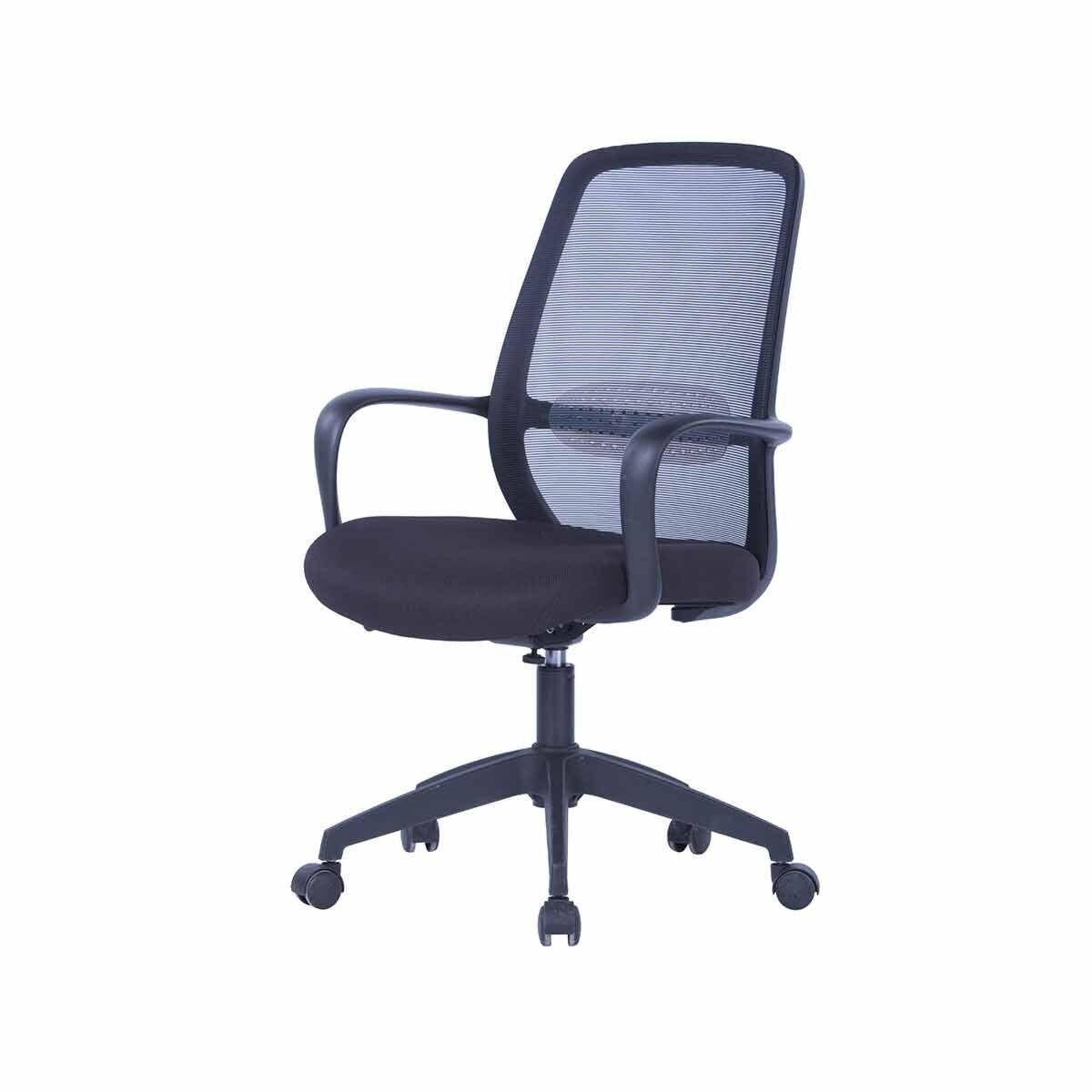 TC Office Soho Mesh Task Chair Black