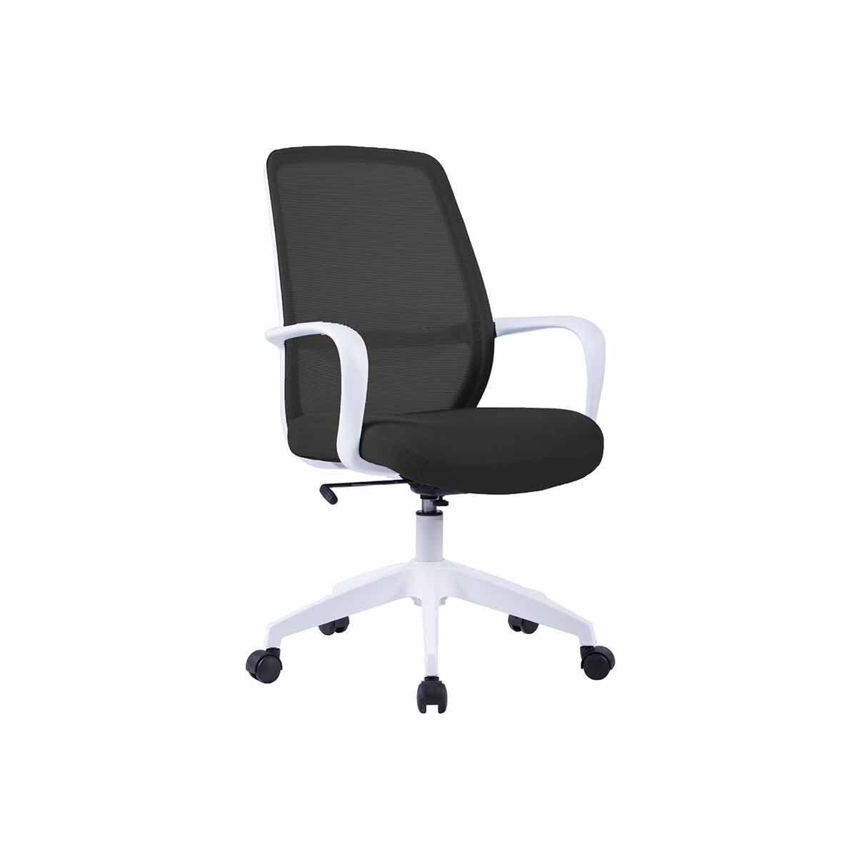 TC Office Soho Mesh Task Chair White