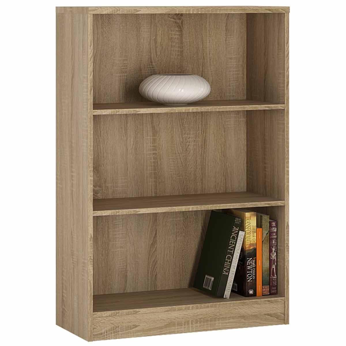 4 You Medium Wide Bookcase