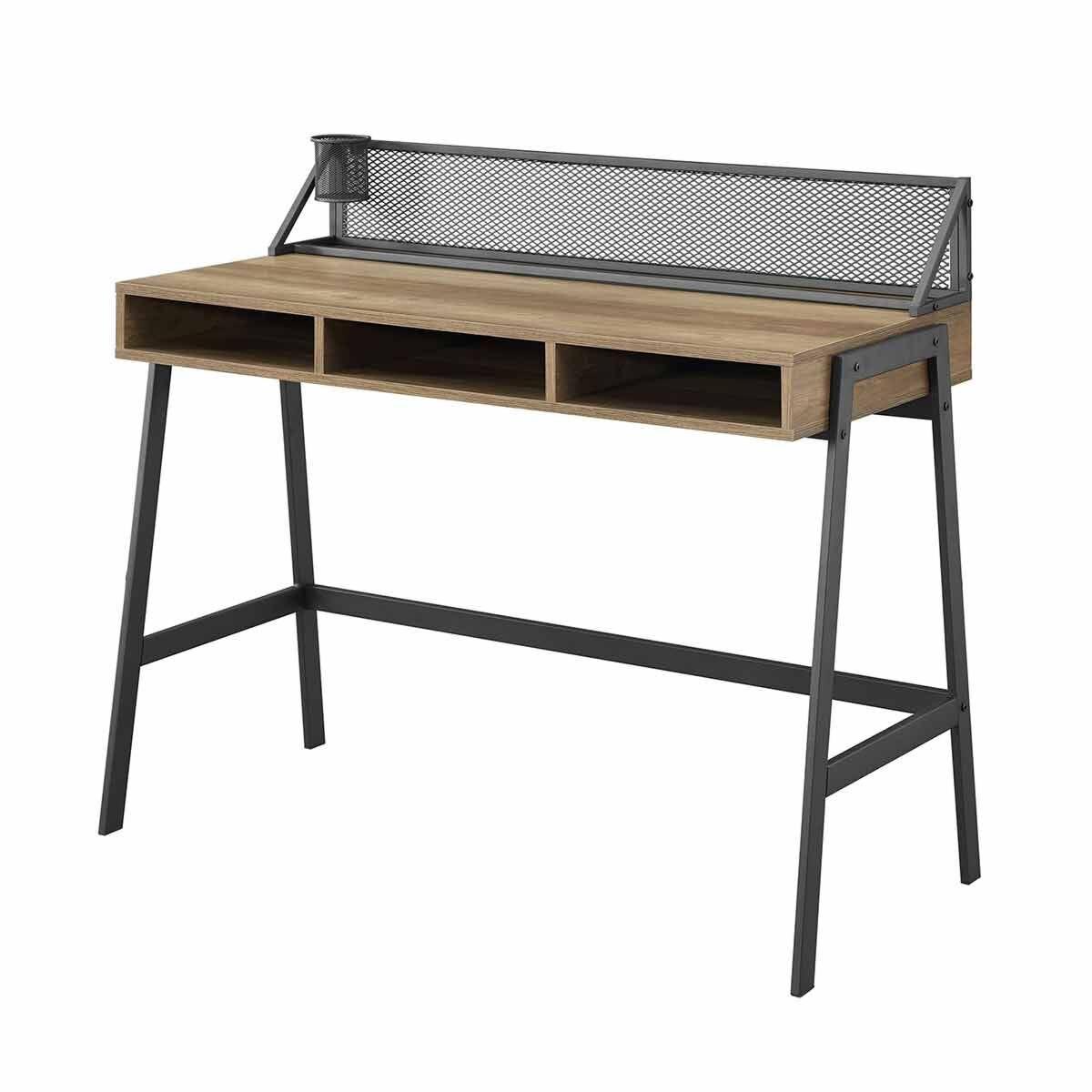 Arques Mesh Back Writing Desk 110cm