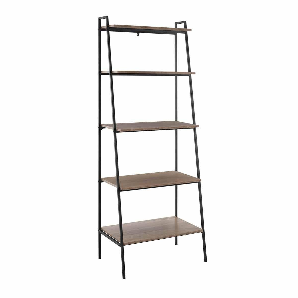 Trieux Industrial Ladder Bookcase Mocha