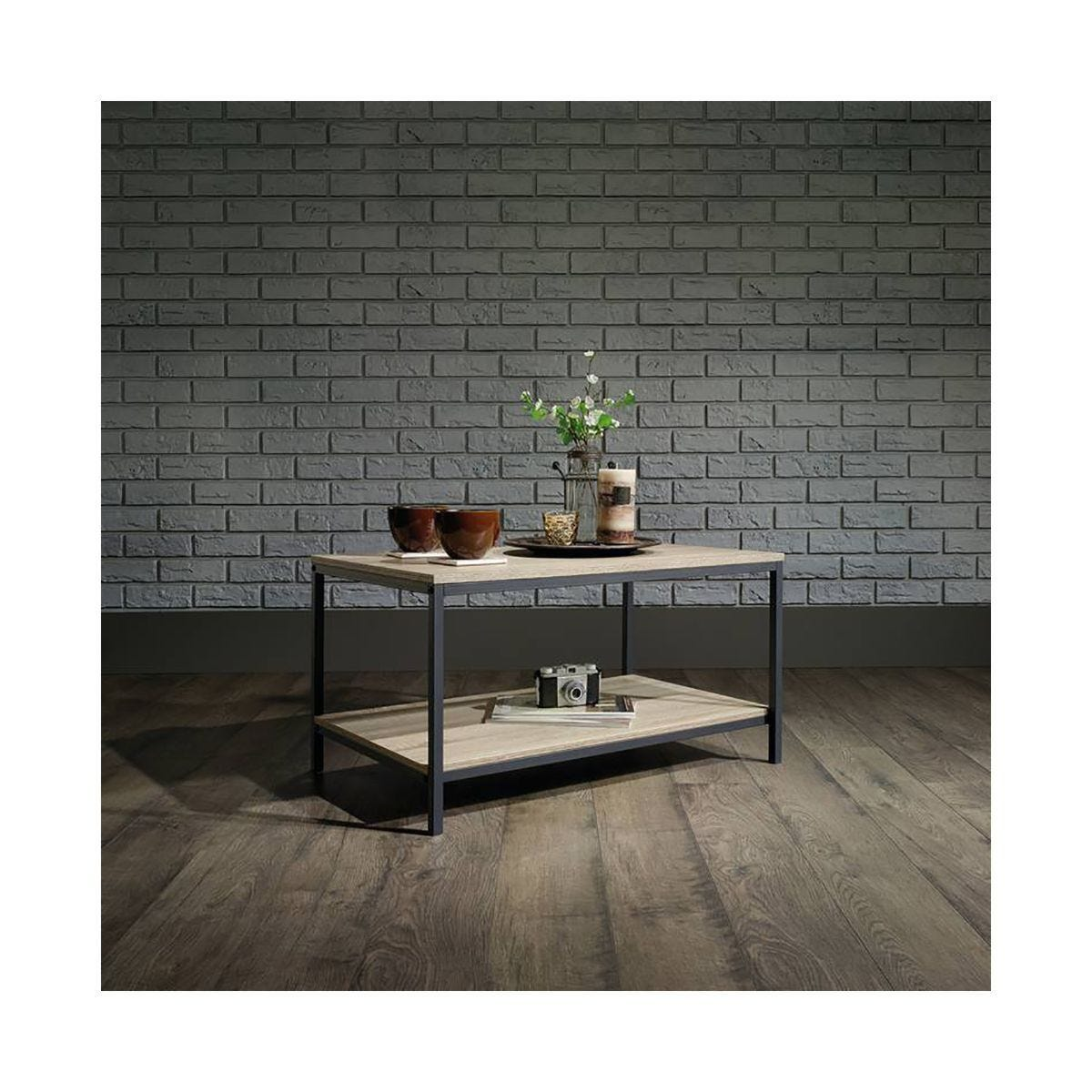 Teknik Office Industrial Style Coffee Table Oak Effect