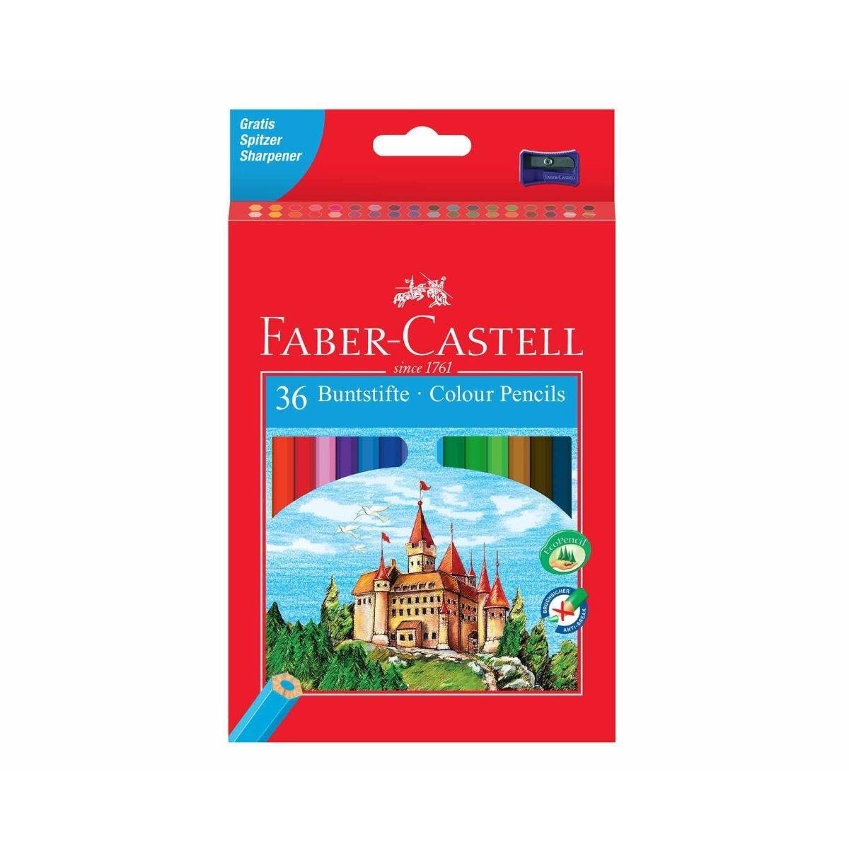 Faber Castell Eco Pencils Colour Pack 36