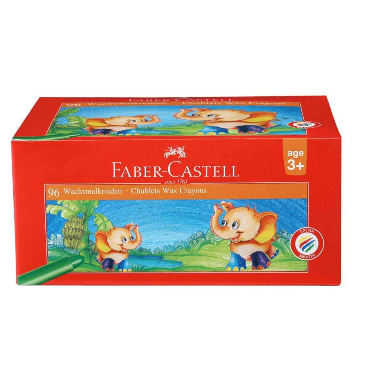 Faber-Castell Chublet Crayons Pack of 96 Assorted