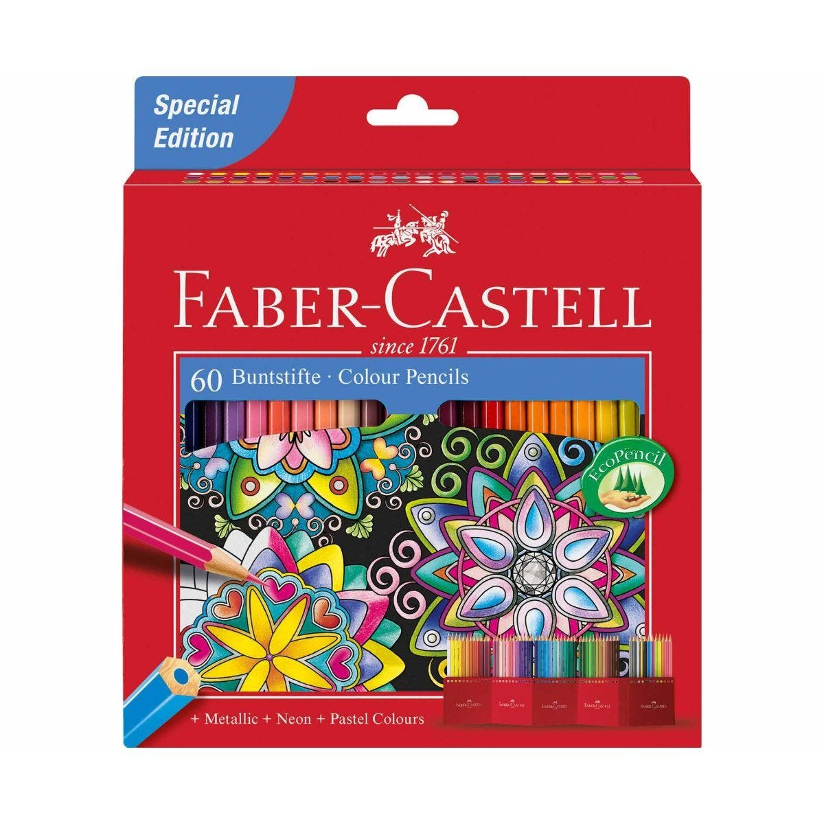 Faber Castell Coloured Pencils Case Of 60