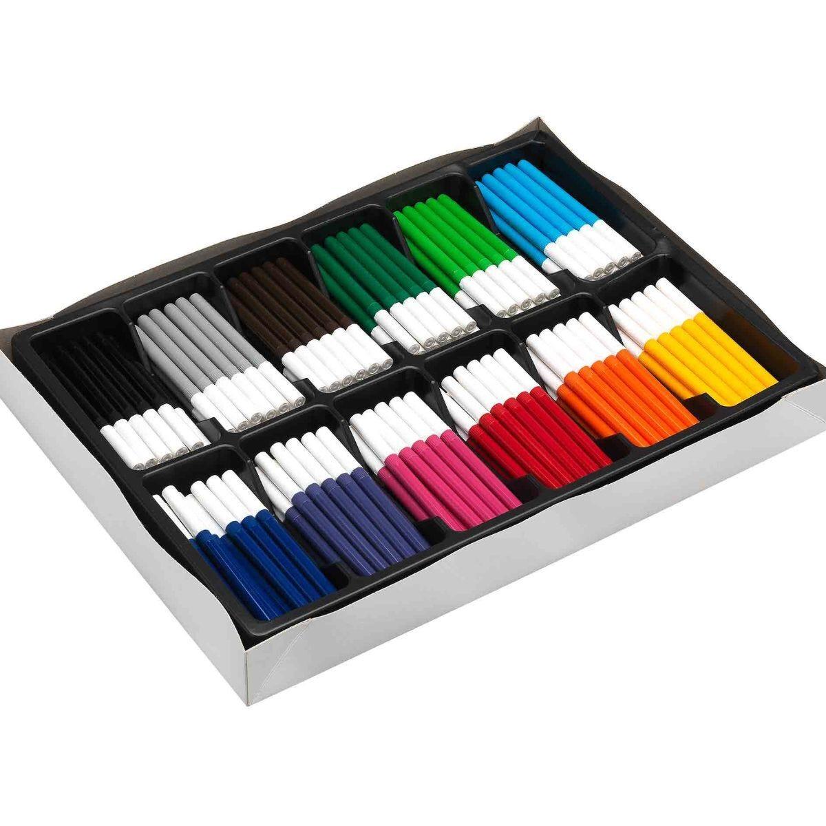 Colourworld Marker Broad Tip Pack of 288 Assorted