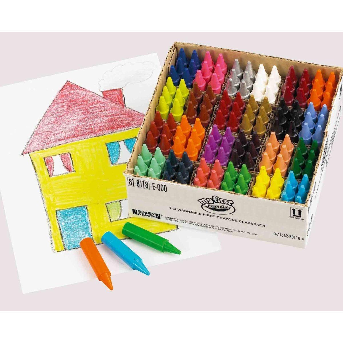 My First Crayola Crayon Classpack of 144